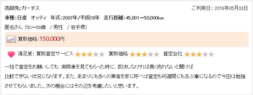 楽天オート岩手県悪い評判4